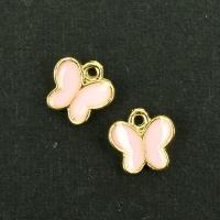 나비모양 금속장식_Lt.pink(10EA)