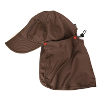 HIKER CAP / red brown