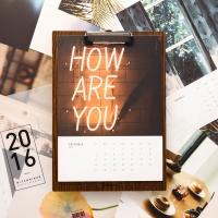 HITCHHIKER 2016 photo calendar
