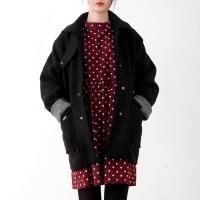 wool coloration coat