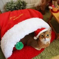 아페토 크리스마스 산타 포켓방석