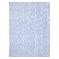 Tea Towel Herring Bone Blue by Susanne Schjerning