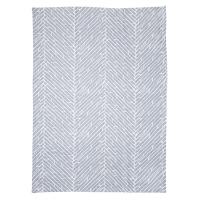 Tea Towel Herring Bone Grey by Susanne Schjerning