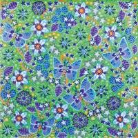 Paper Napkins Green by Esben Hanefelt