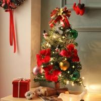 [크리스마스트리]다이아 통나무트리세트 45cm_(741922)