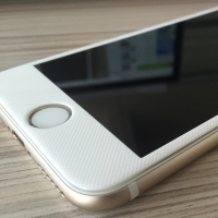 (1+1) [아이폰6/6S, 6/6S플러스] 카본 3D 곡면 풀커버 강화유리
