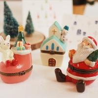[Trinket box보석함]눈사람/토끼/산타