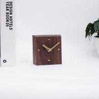 월넛원목 탁상시계