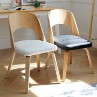 포레스트 자작나무 원목 식탁 의자