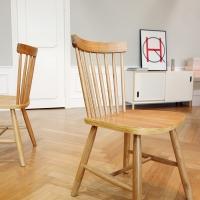포레스트 에쉬 원목 식탁 의자