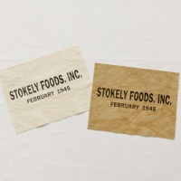 S/ 1컷] Vintage post oil washing cut _STOKELY FOODS(단도)