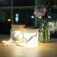 Lettering CAMP : 터치센서 충전식 LED LAMP 주문제작 메세지 조명