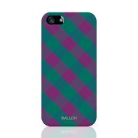 [원잇] Allok - Block Check, Purple n Green 하드케이_(11676524)