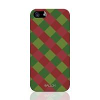 [원잇] Allok - Block Check, Red n Green 하드케이스_(11676527)