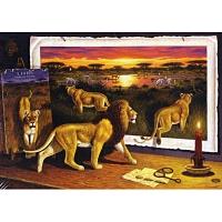 1000조각 직소퍼즐▶ 책과 자연과 사자 (hol09302)