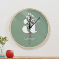 [상상후]디자인시계_리베스가브B_아네모네(우드프레임/20cm,30cm)