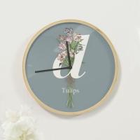 [상상후]디자인시계_리베스가브B_더치튤립(우드프레임/20cm,30cm)