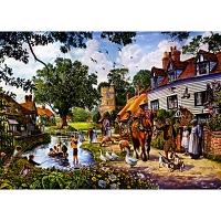 1000조각 직소퍼즐▶ 여름의 마을 풍경 (hol09251)