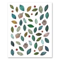 [Jara] Christmas leaves