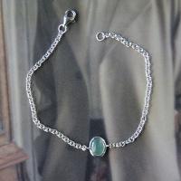 아벤츄린bracelet (silver925)