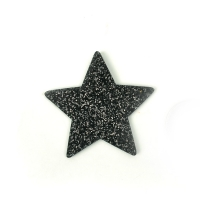 반짝이 부직포 별_55mm