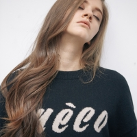 Meco Logo Knit(Black)