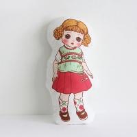 [Fabric] 바이민 6탄! 빈티지돌 인형 컷트지 코튼(마담알렉산더)