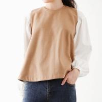 femine puff blouse