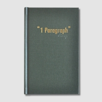 1 Paragraph Diary-Hardcover Deepgreen