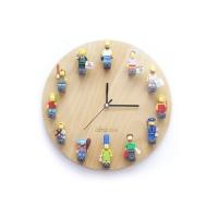 코드에이블 LEGO 미니피규어 DIY 원형벽시계