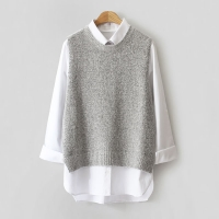 SiMple knit VEST (5-color)