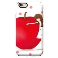 [아이폰] 가드업 케이스 사과 에치
