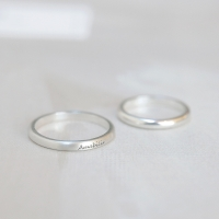 플레인이니셜 Ring (silver925)
