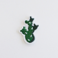 [Deco] Honey Bunny_내가 그린 Green 와펜 (접착식와펜)