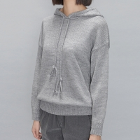 loose-fit knit hoody (3 colors)_(197834)