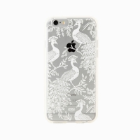 Clear Peacock iPhone 6/6S/6Plus Case