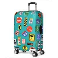 [Travel Mate] 스판 캐리어커버(LCS346) - 러기지 스티커