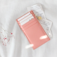 D.LAB Gato zipper wallet - Pink
