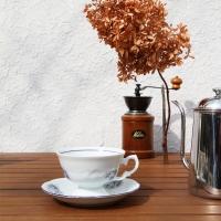 프리데리카 화이트블루 커피잔6Pcs