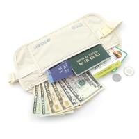 [TCUBE] RFID 개인정보 해킹방지 & 소매치기방지 안전복대-아이보리