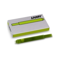 Lamy Safari 2016 차지드그린 T10 카트리지 (5개입)