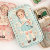 paper doll mate multi pen pouch L ver.2