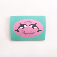 LETTER PAPER_DOLPHIN
