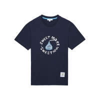 [HNK] Sweet More Spangle S/S Tee(NAVY)_(375192)