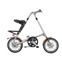 스트라이다 5.1+ BRUSH SILVER 미니벨로 접이식 자전거