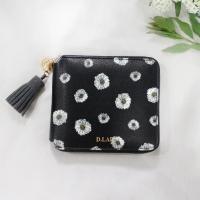 D.LAB Flower zipper wallet - 3color
