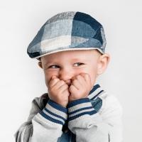 [CTH MINI] 마르셀 주니어 라지체크 유아동헌팅캡