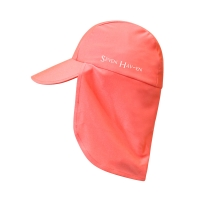 [세븐하벤] 자외선차단 아동 선캡 솔리드 코럴