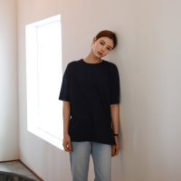 Color slub tee