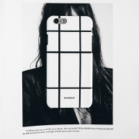 BAUHAUS phone case - white